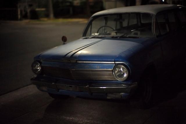 Roberts Street blue Holden