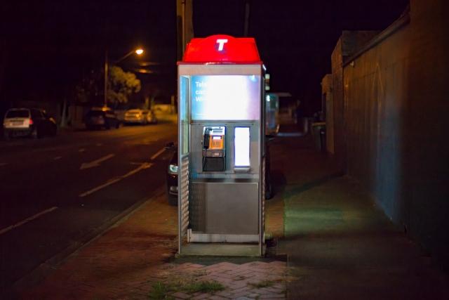 Victoria Road phone box